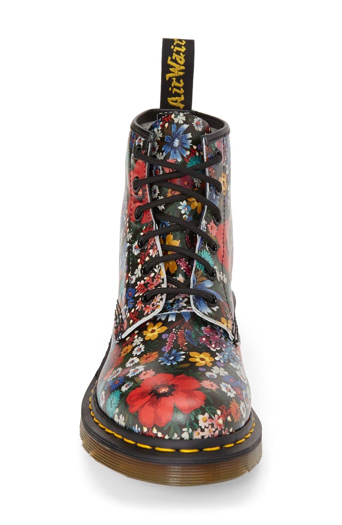 Alternate Image 3  - Dr. Martens '101' Floral Print Leather Boot (Women)