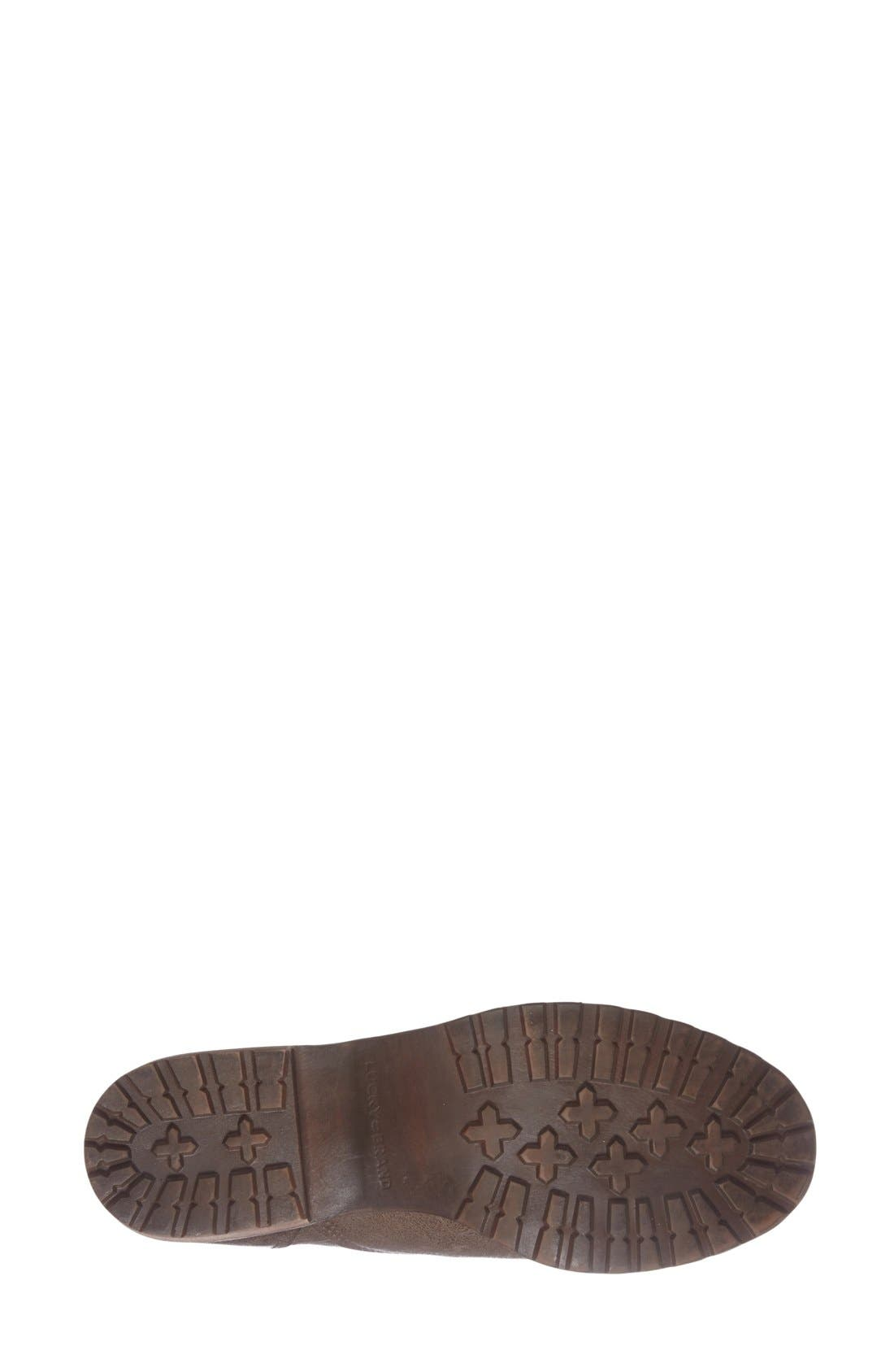 Alternate Image 4  - Lucky Brand 'Giorgia' Lace Up Bootie (Women)