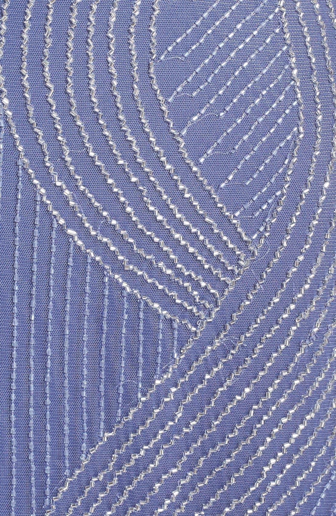 Alternate Image 3  - Adrianna Papell Beaded Blouson Maxi Dress
