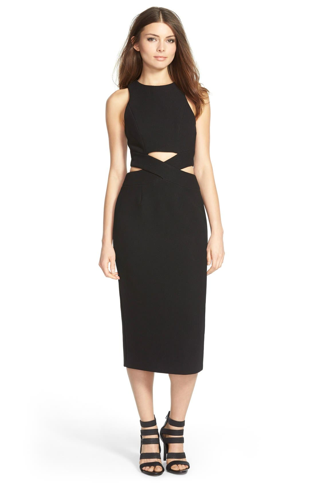 Alternate Image 1 Selected - Finders Keepers the Label 'Take Me Out' MidiDress