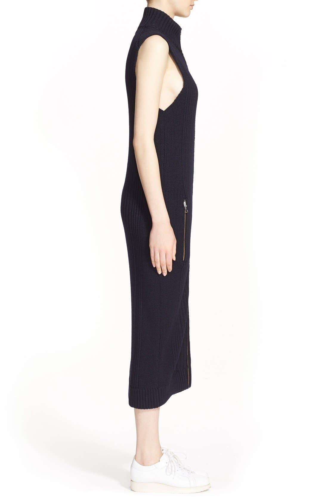 Alternate Image 5  - ACNE Studios 'Benita Clean' Zip Front Sweater Dress