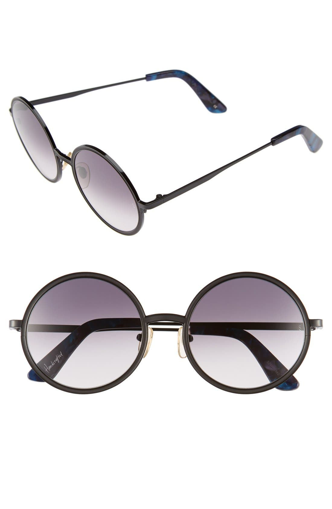Main Image - SUNDAY SOMEWHERE 'Charlie' 52mm Round Sunglasses