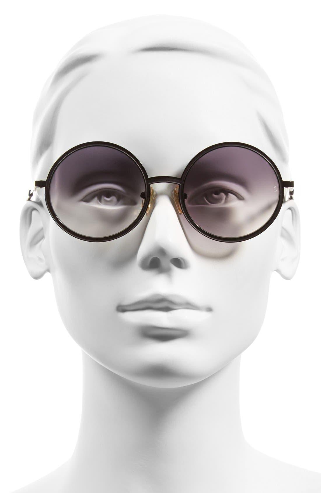 Alternate Image 2  - SUNDAY SOMEWHERE 'Charlie' 52mm Round Sunglasses