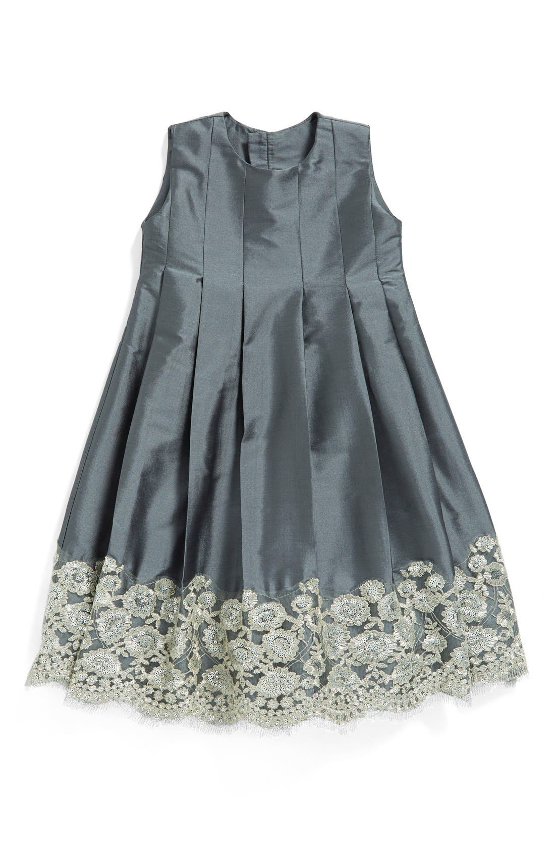 ISABEL GARRETON Sleeveless Taffeta Dress