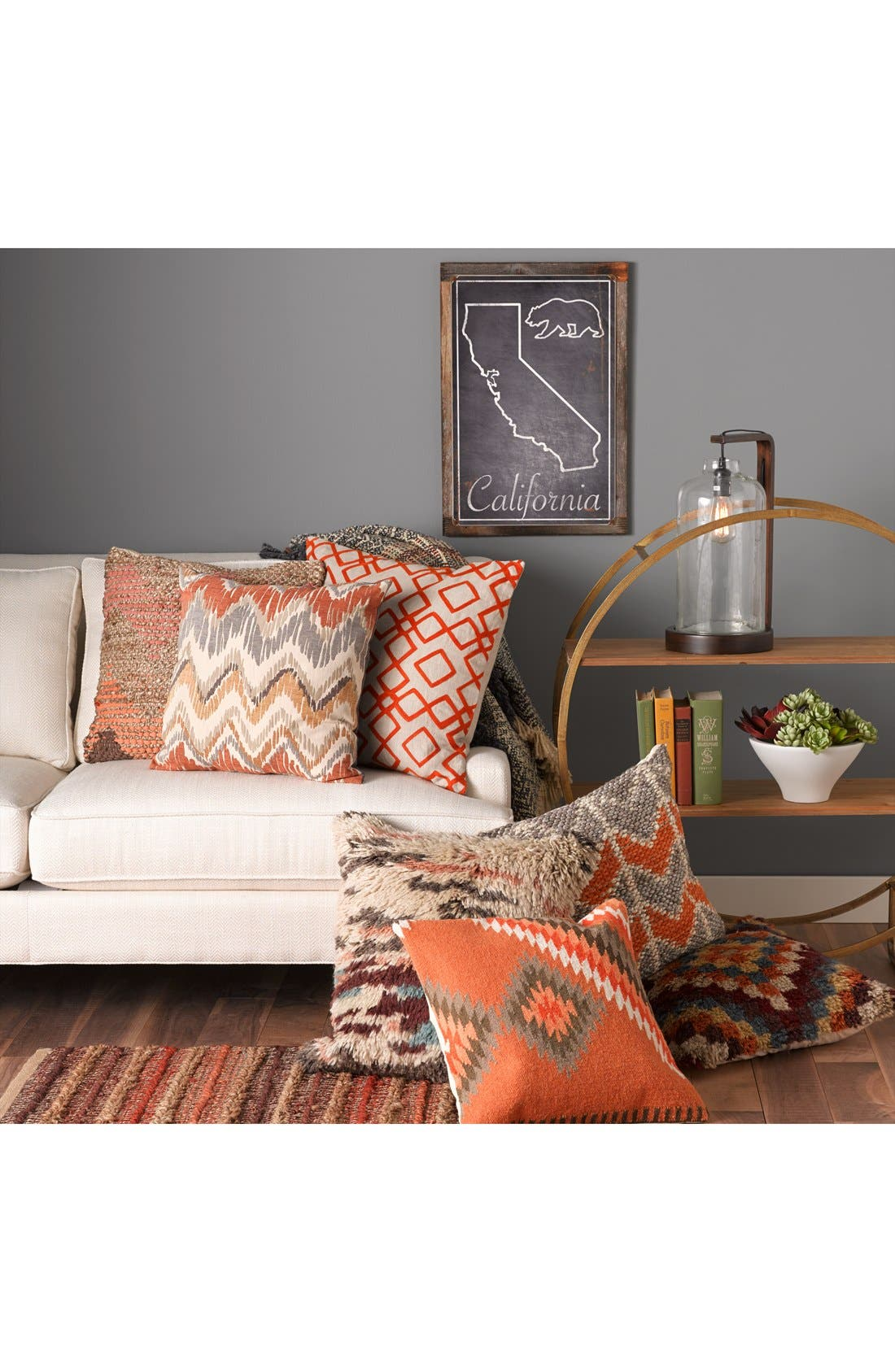 Alternate Image 2  - Surya Home 'Kilim' Wool Accent Pillow
