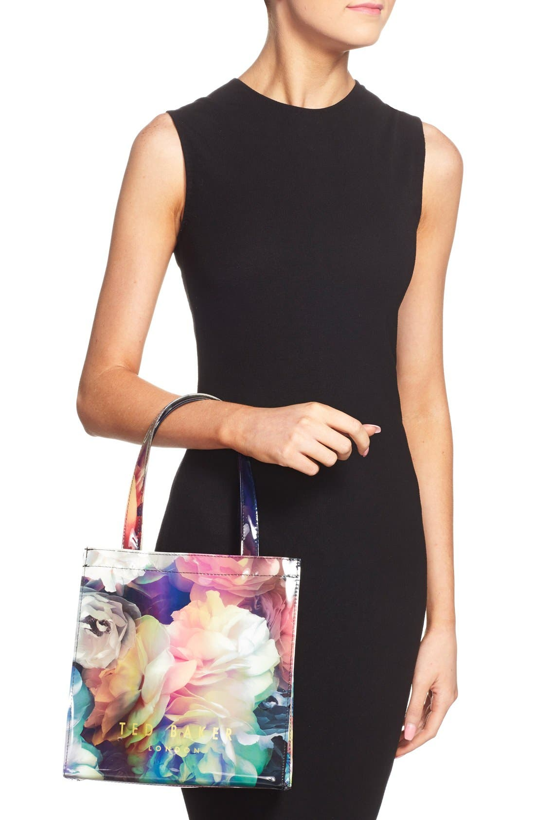 Alternate Image 2  - Ted Baker London 'Small Technicolor Bloom Icon' Tote