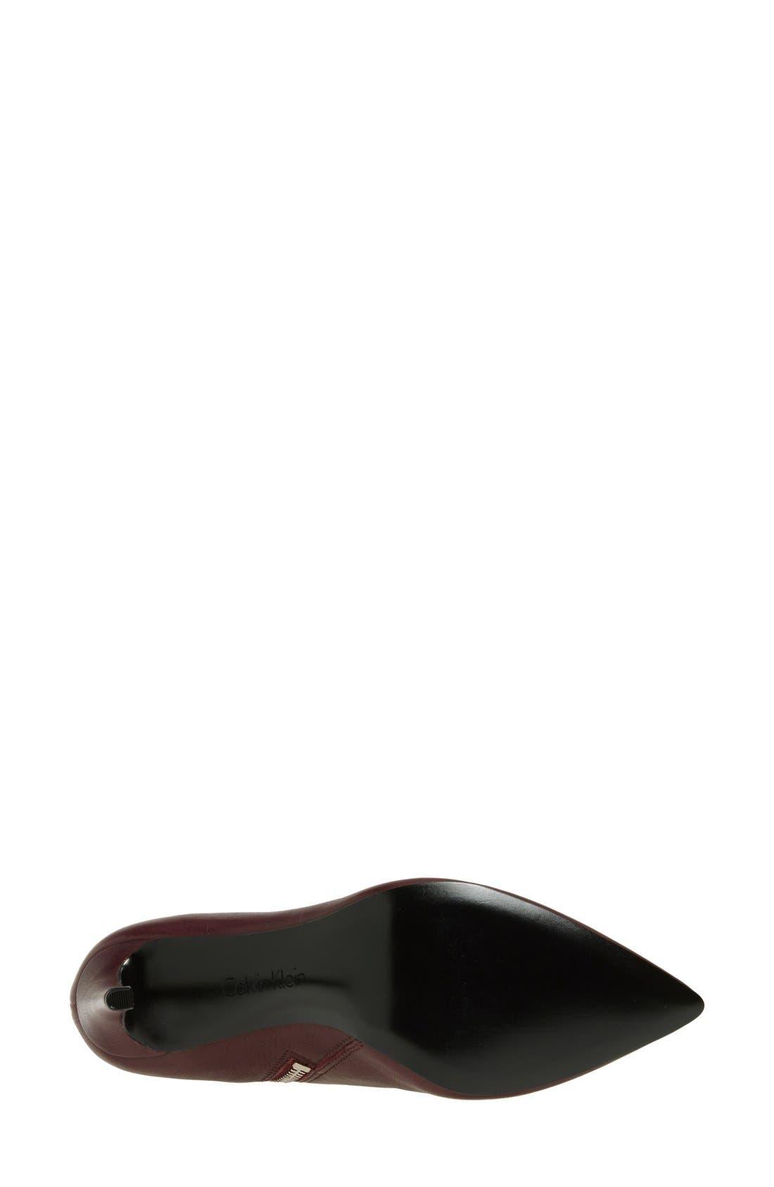 Alternate Image 4  - Calvin Klein 'Clariss' Pointy Toe Bootie (Women)