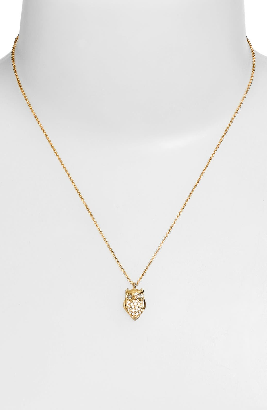 Alternate Image 2  - kate spade new york owl pendant necklace