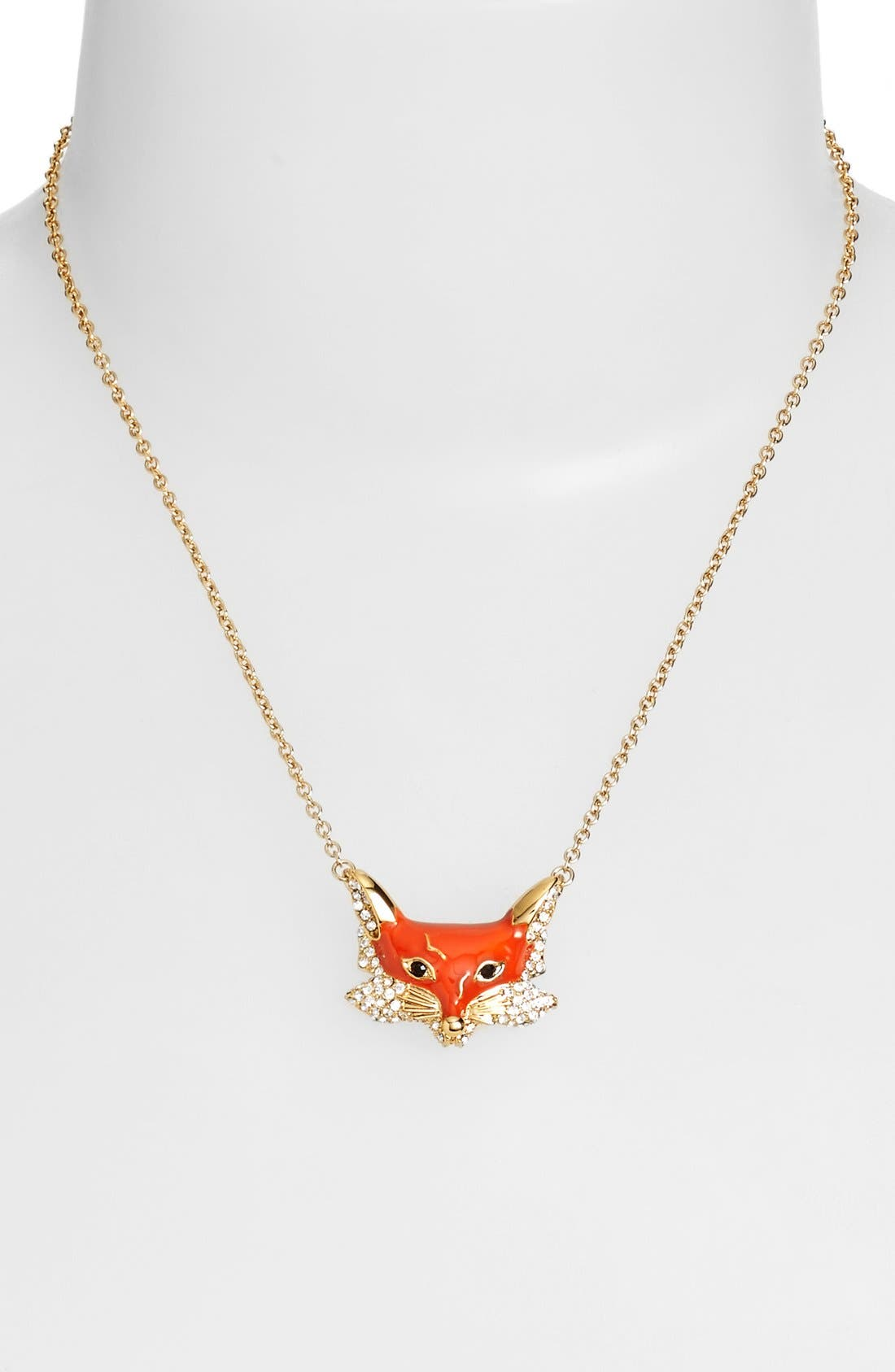 Alternate Image 2  - kate spade new york 'into the woods - fox' pendant necklace