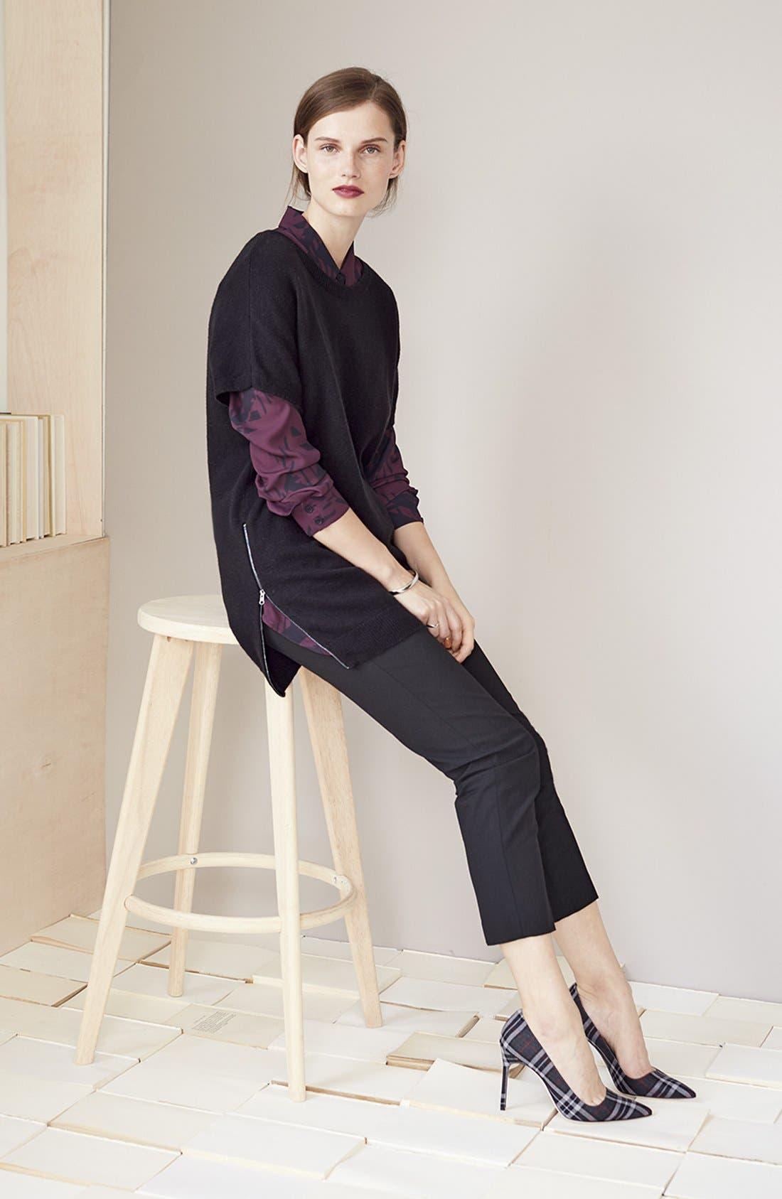 Alternate Image 4  - Halogen® 'Taylor' Ankle Skinny Pants (Regular & Petite)