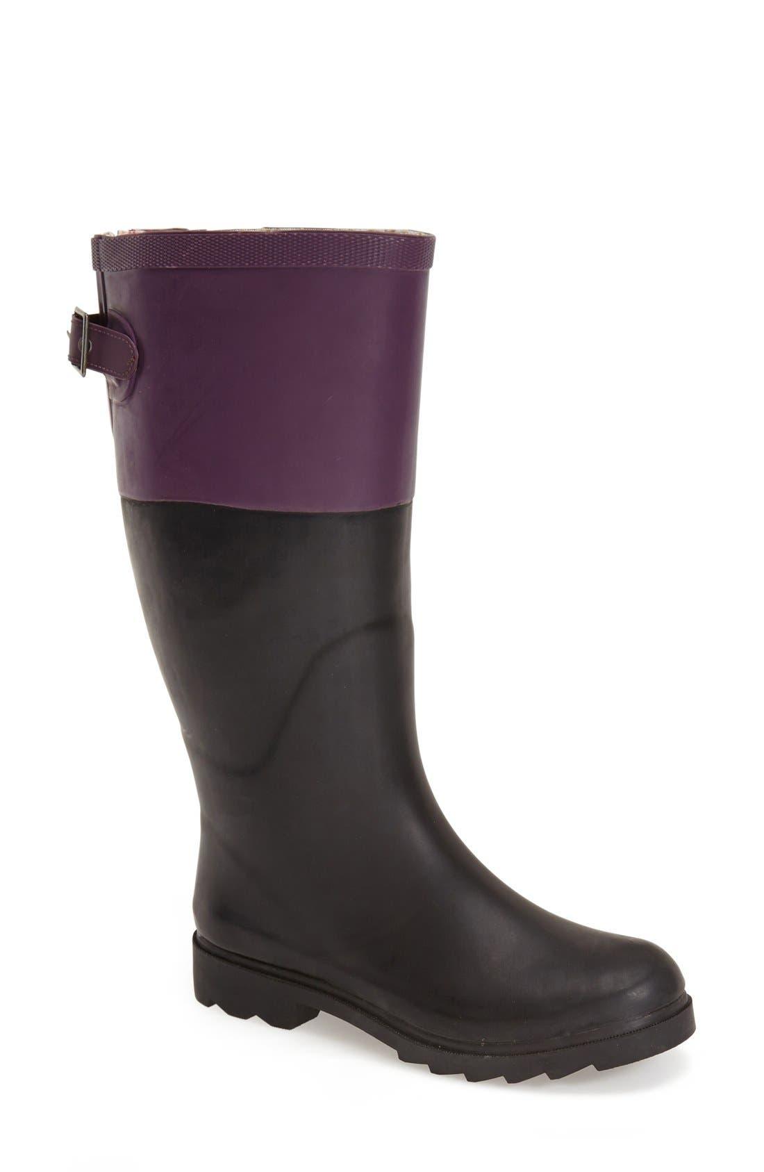 Alternate Image 1 Selected - ChookaGusset Rain Boot (Women)