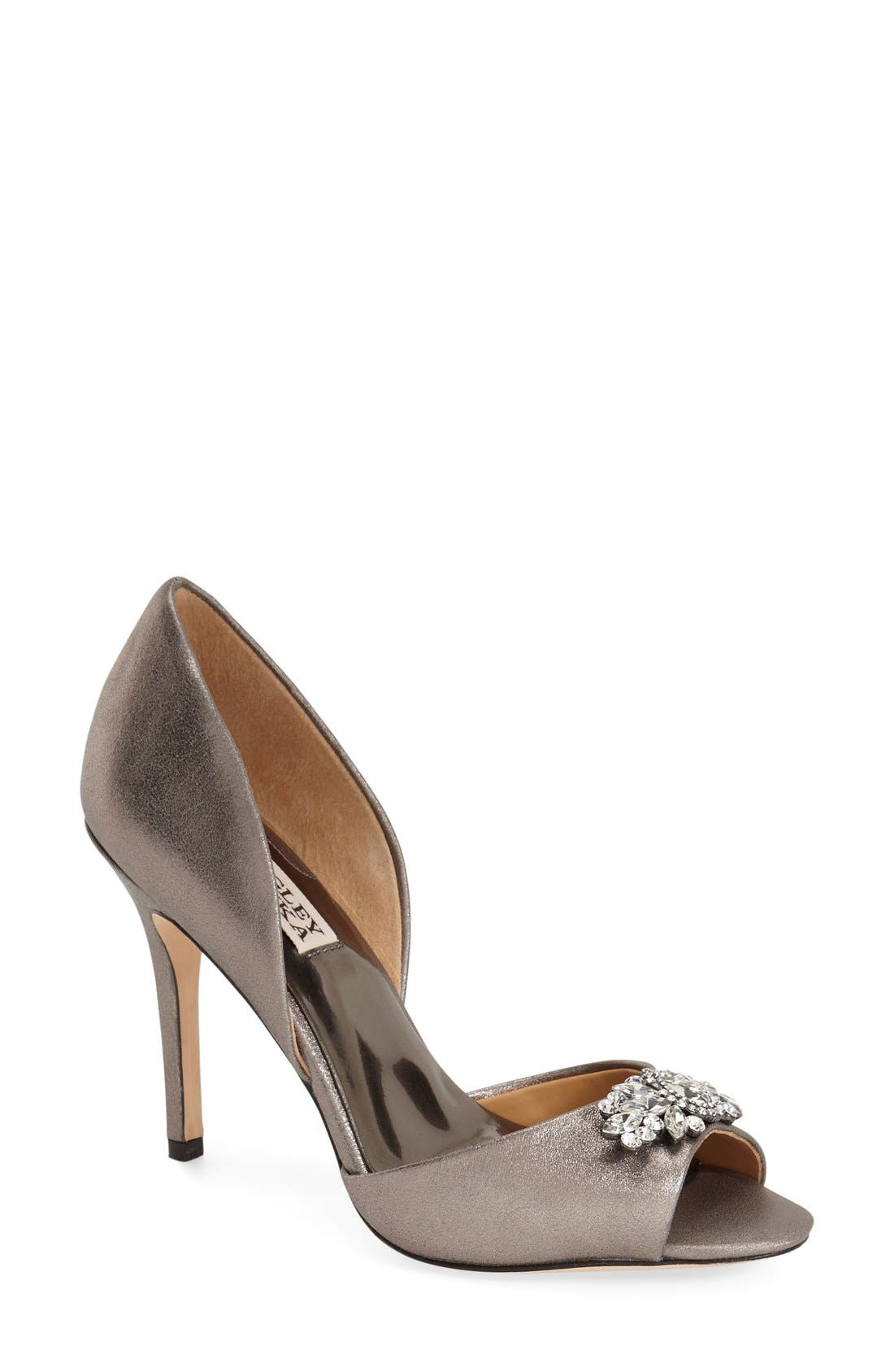 Alternate Image 1 Selected - Badgley Mischka 'Sugar' d'Orsay Pump (Women)