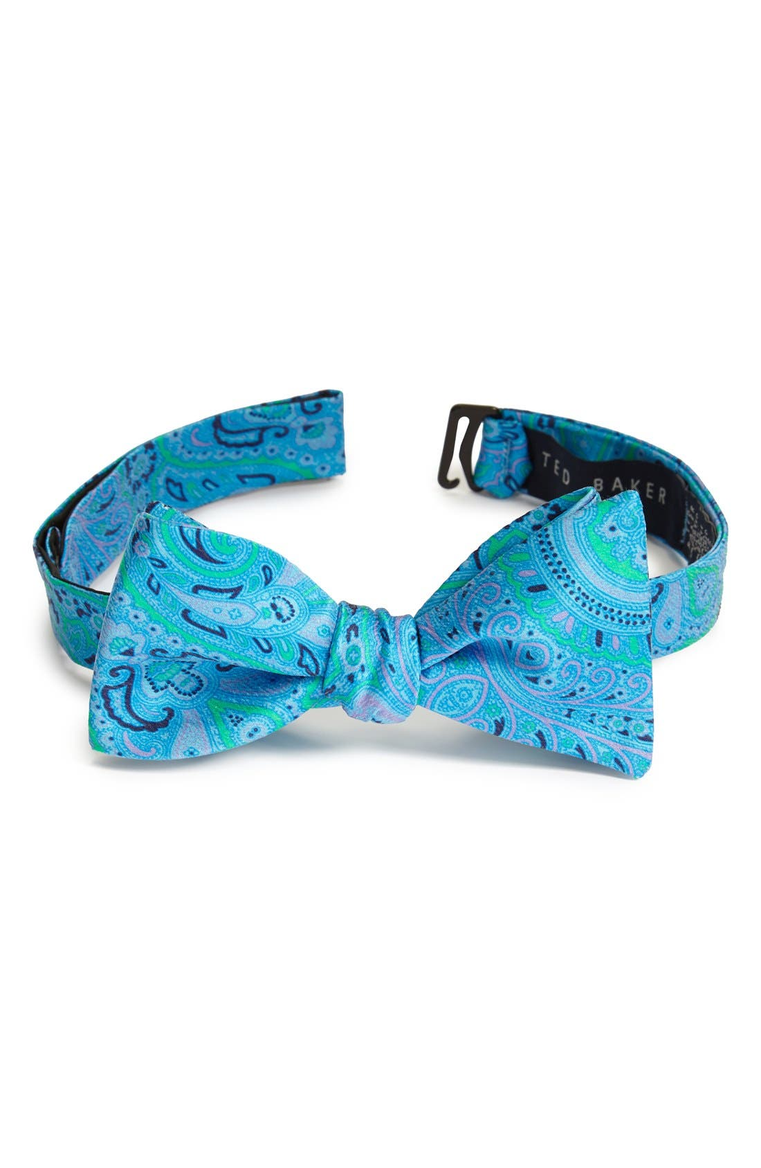 Alternate Image 1 Selected - Ted Baker London Paisley Silk Bow Tie