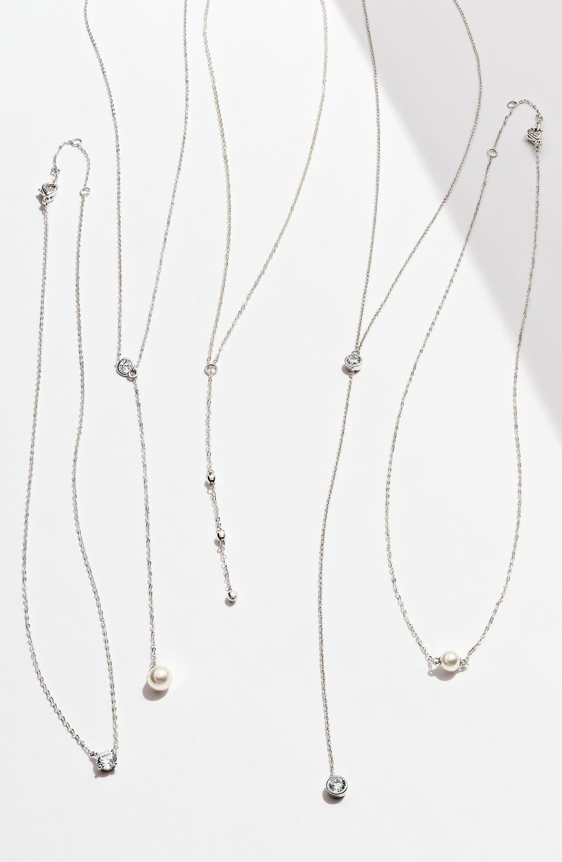 Alternate Image 3  - Nadri Imitation Pearl Necklace