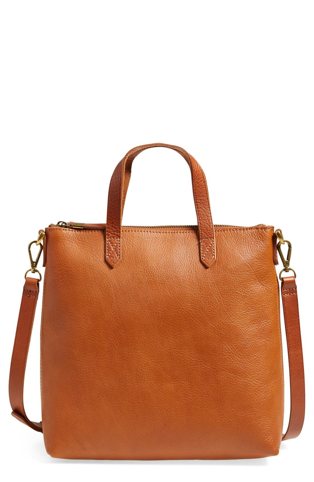 Alternate Image 1 Selected - Madewell The Transport Leather Crossbody Bag