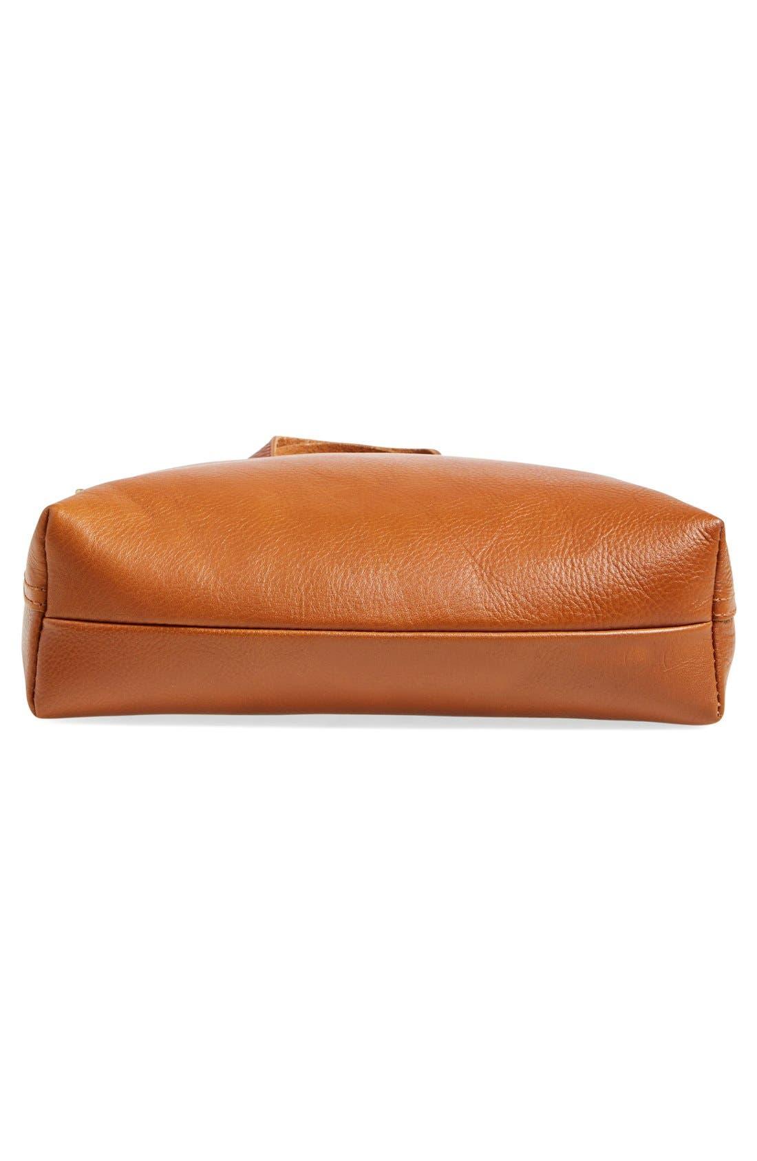 Alternate Image 6  - Madewell The Transport Leather Crossbody Bag