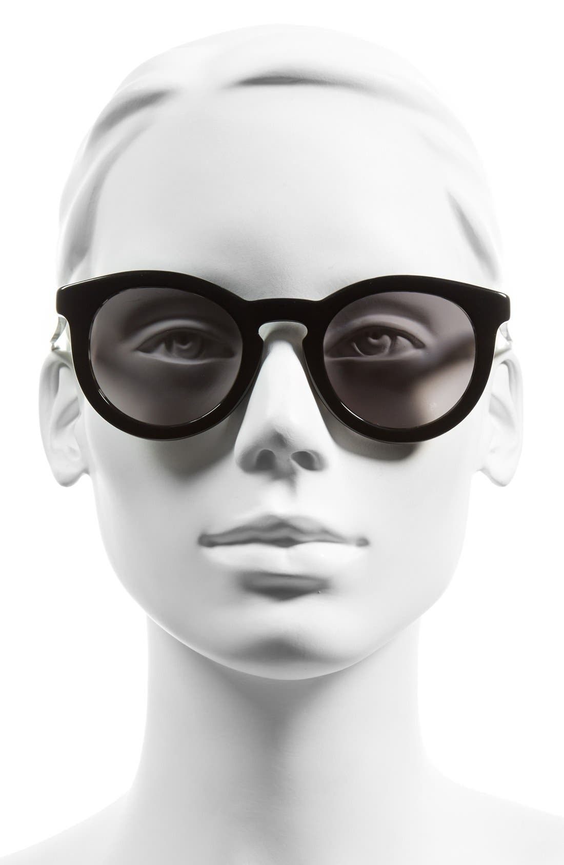 Alternate Image 2  - BOSS 48mm Round Sunglasses
