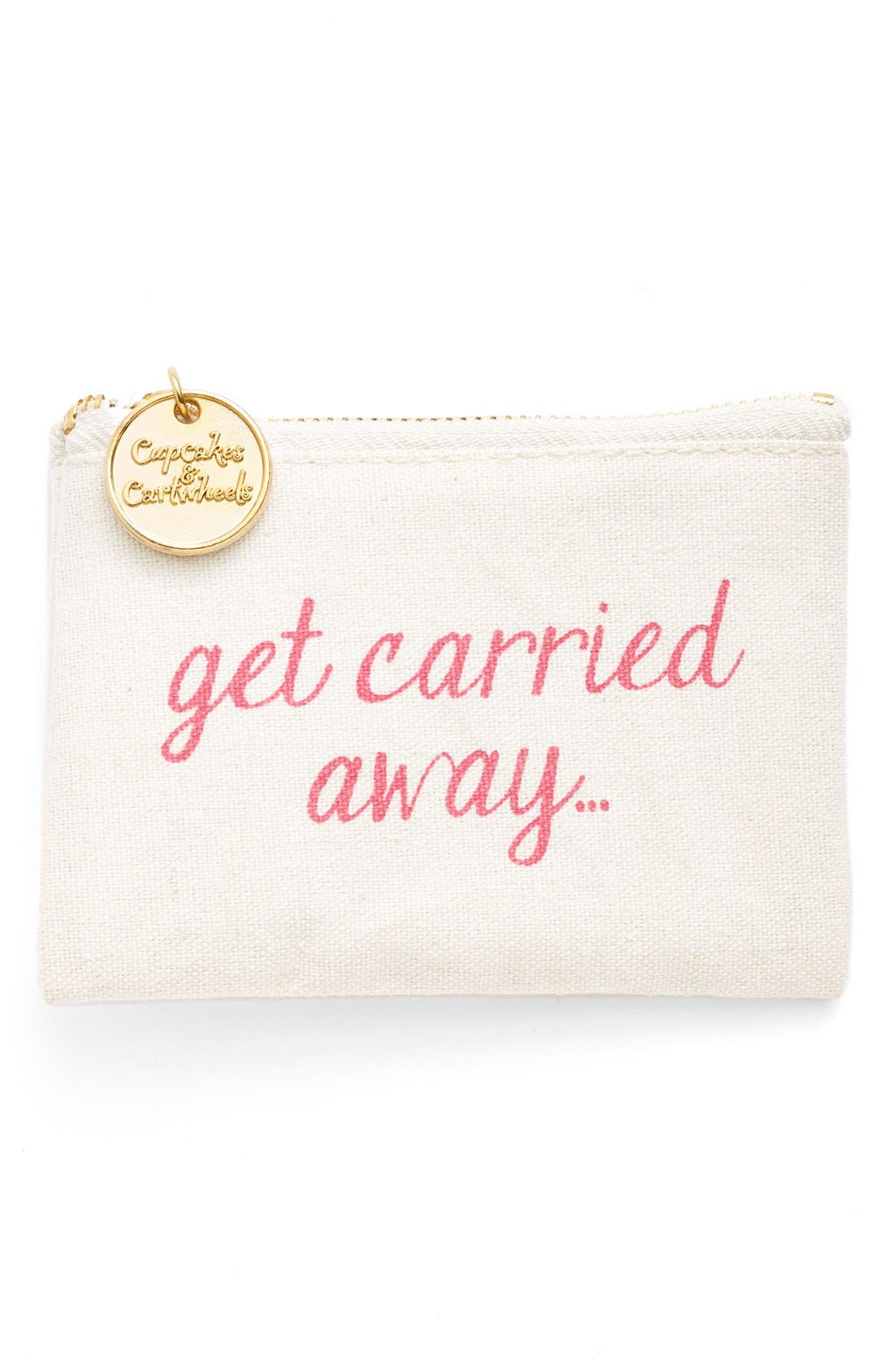 Alternate Image 1 Selected - Two's Company 'Get Carried Away' Coin Purse