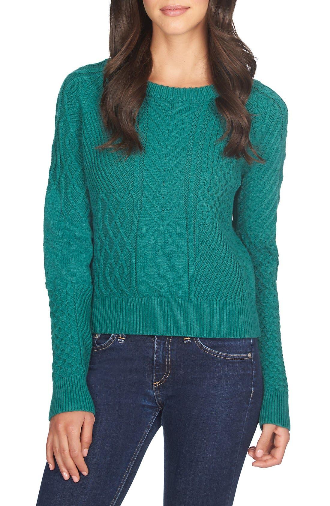 Alternate Image 1 Selected - 1.STATE CrewneckKnit Sweater