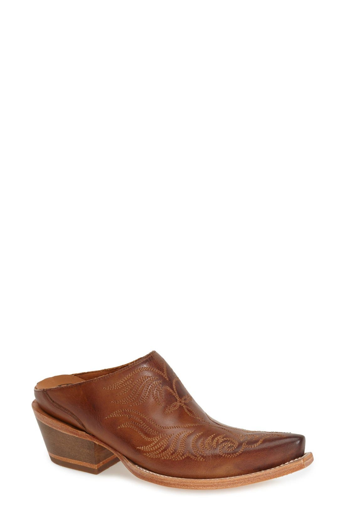 Alternate Image 1 Selected - Lucchese'Western' Mule (Women)