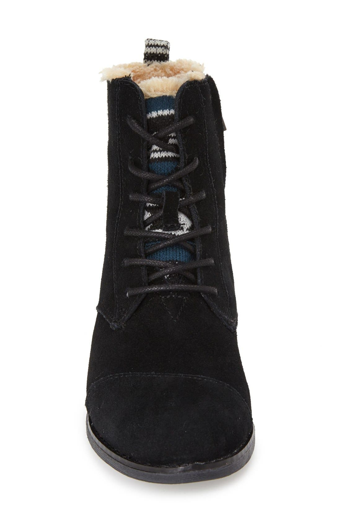 Alternate Image 3  - TOMS 'Alpa'Water Resistant Suede Boot (Women)