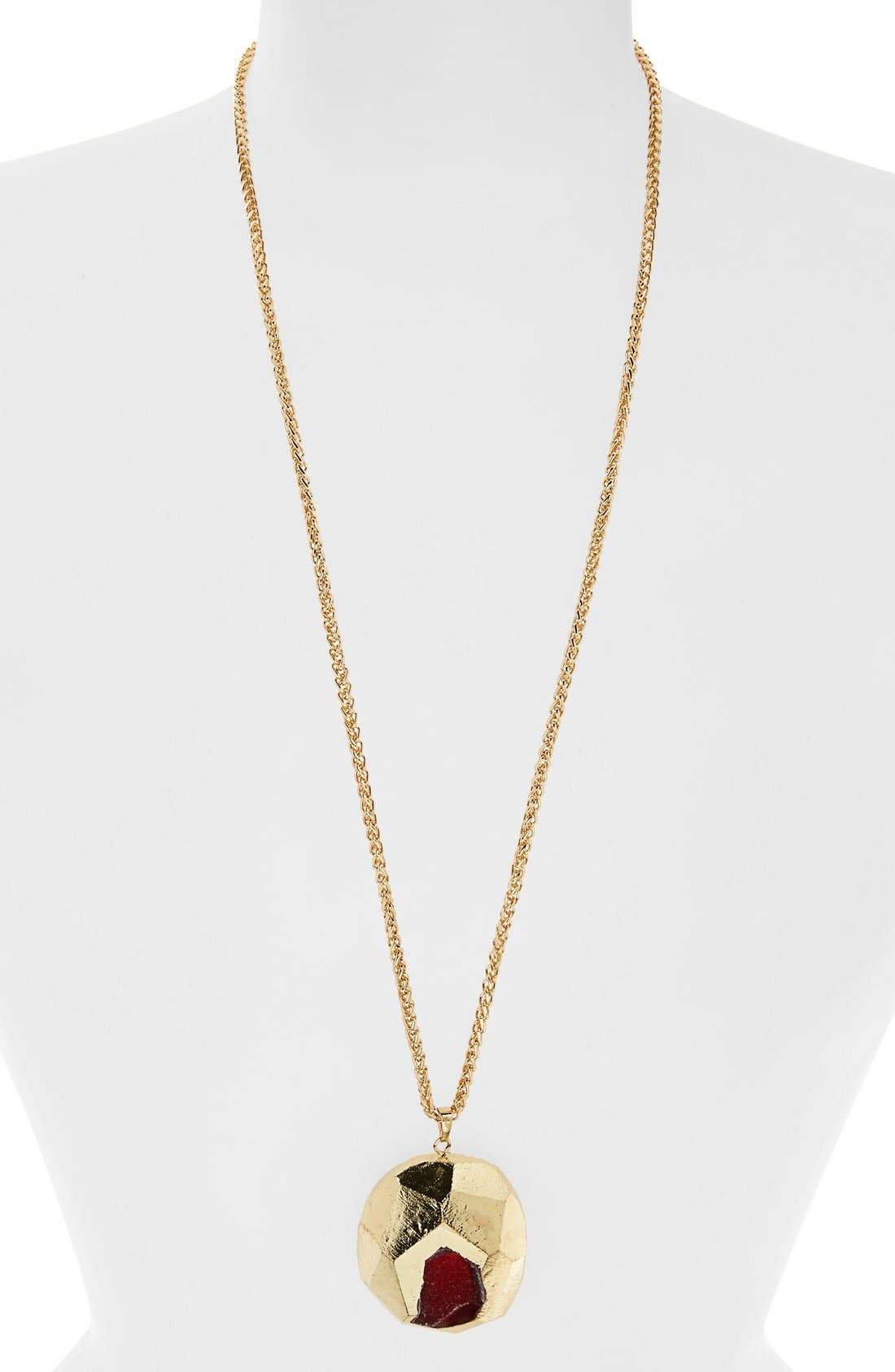Main Image - Panacea Semiprecious Stone Pendant Necklace