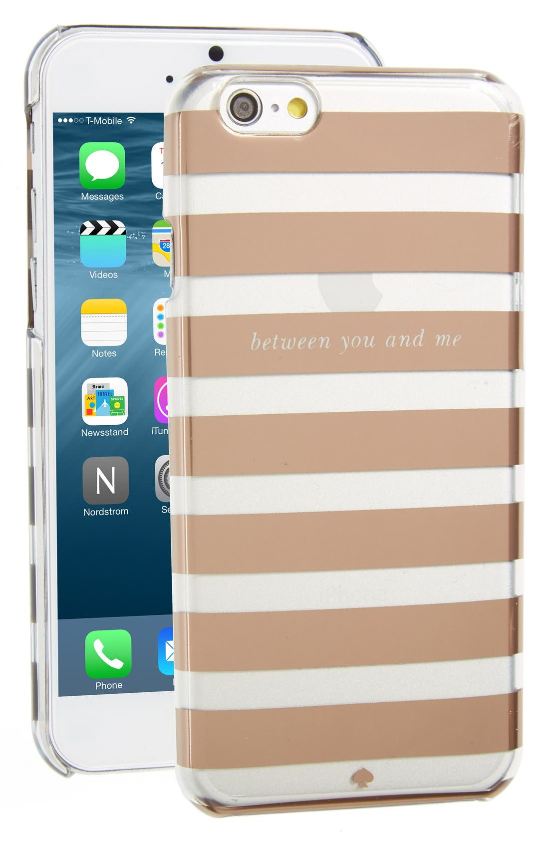 Alternate Image 1 Selected - kate spade new york 'between you and me' iPhone6 case