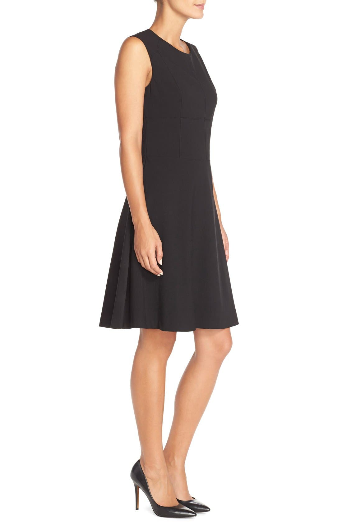 Alternate Image 3  - Marc New York 'Lux' Stretch Fit & Flare Dress