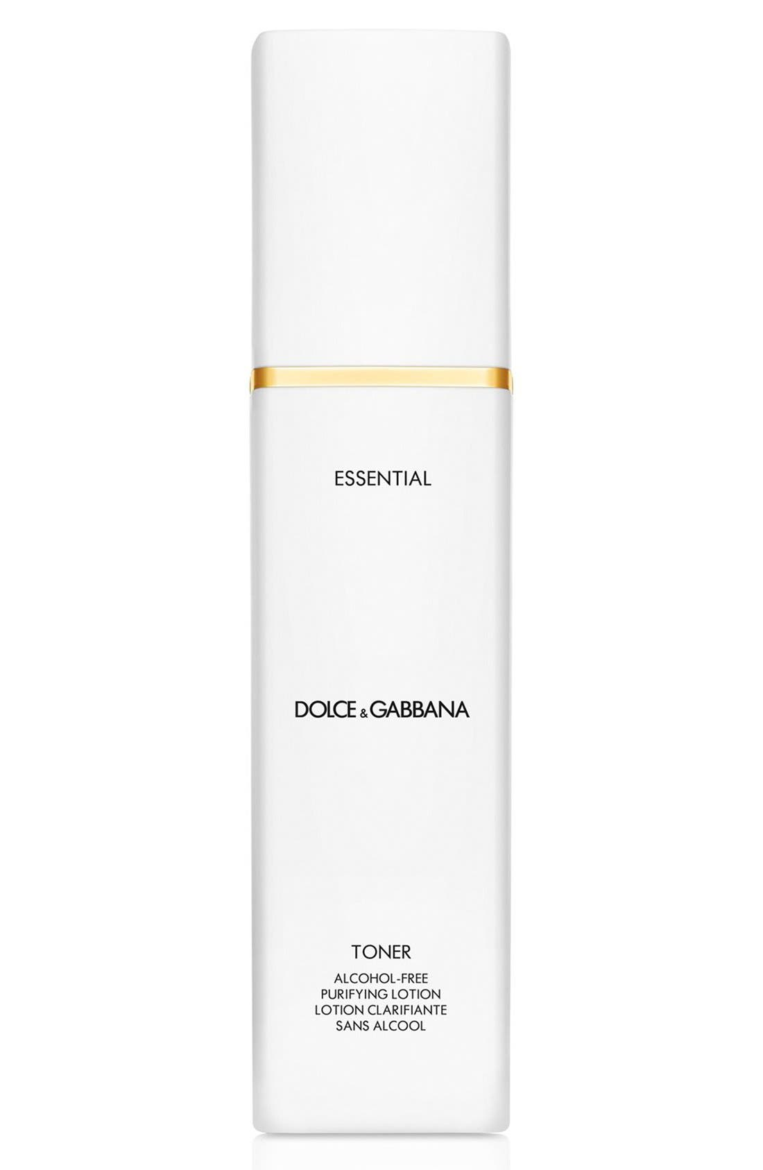 Dolce&Gabbana Beauty 'Essential' Toner Alcohol-Free Purifying Lotion