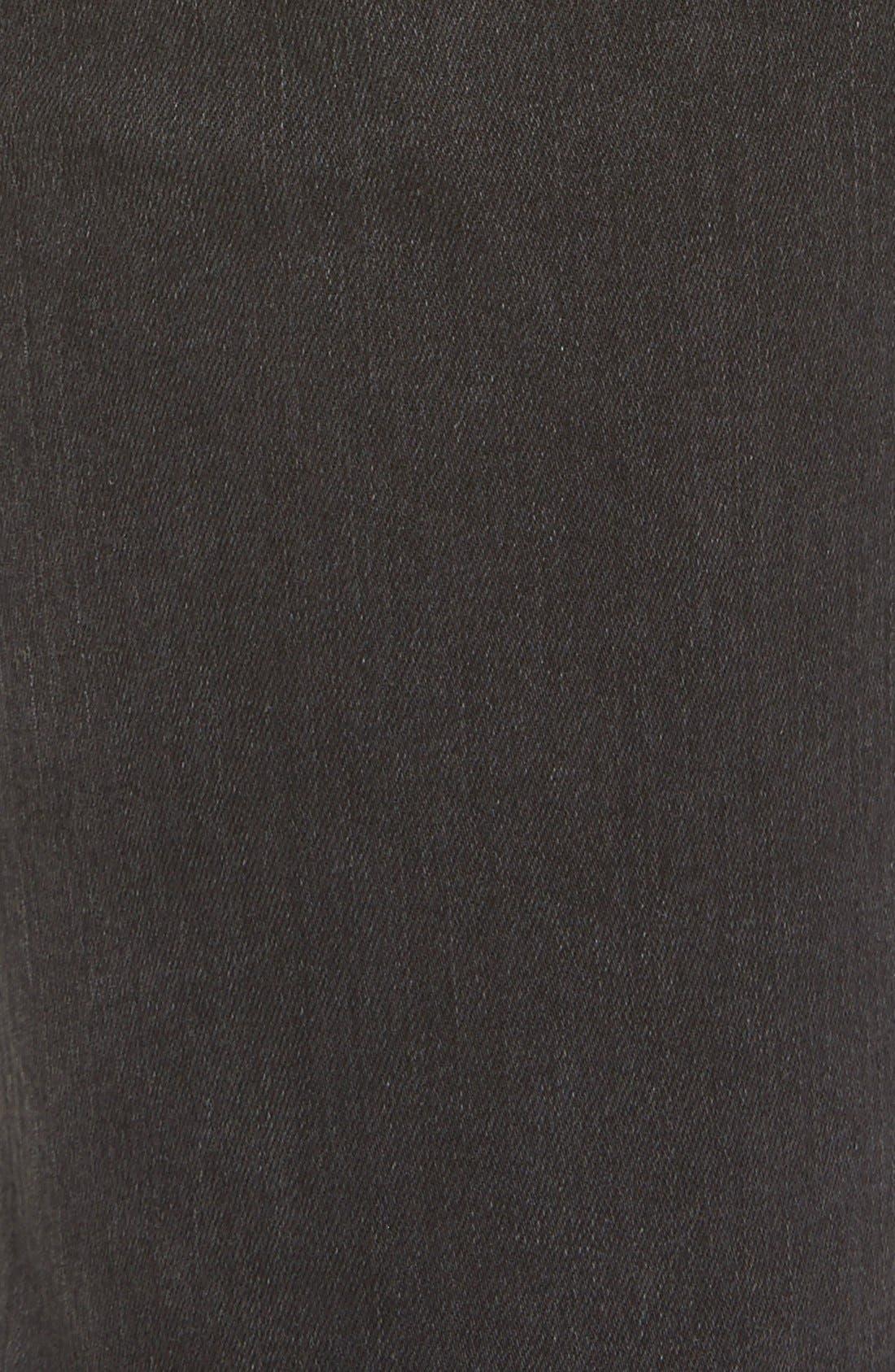 Alternate Image 5  - STSBlue 'Piper' Destroyed Skinny Jeans (Black)