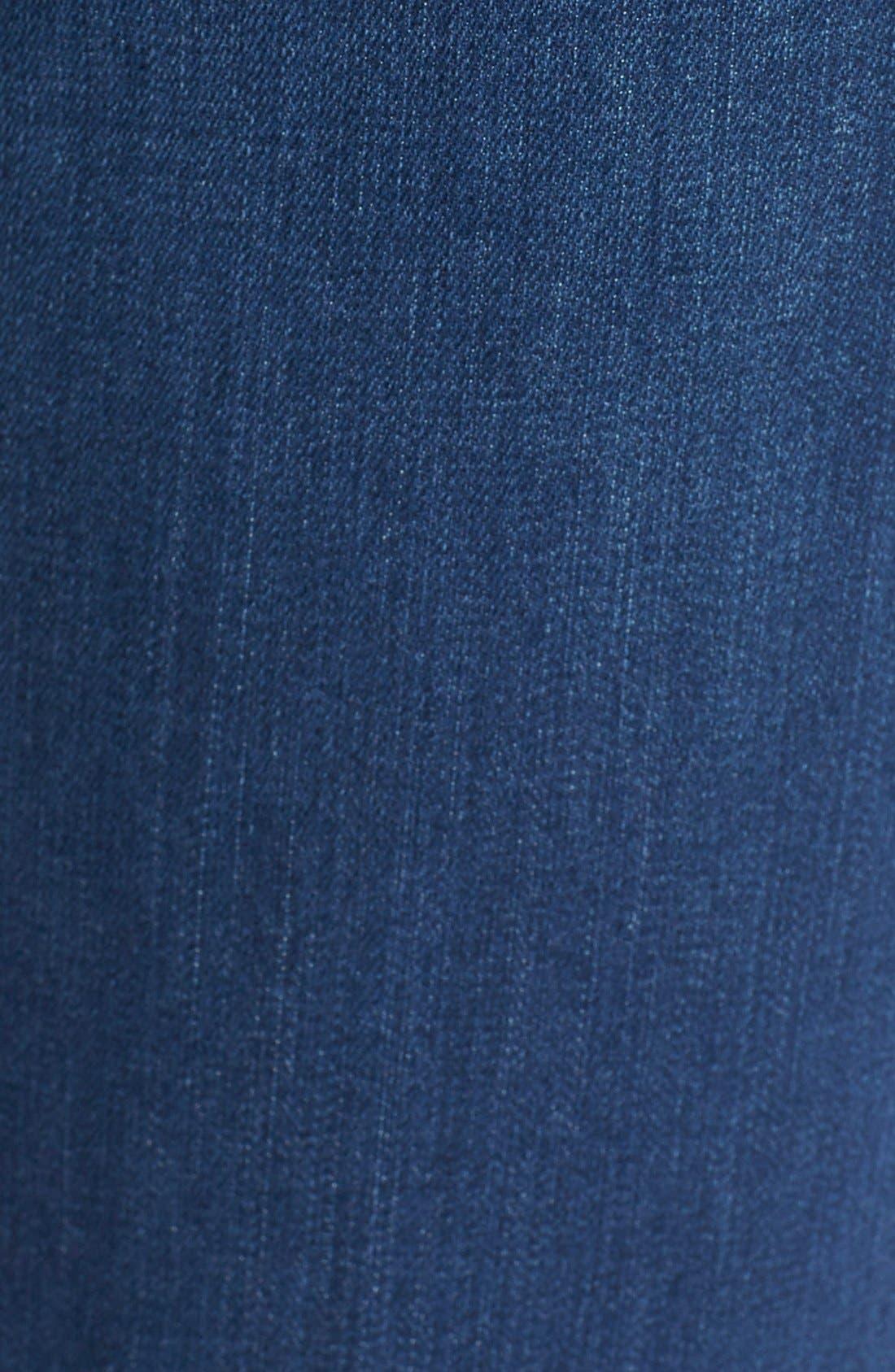 Alternate Image 5  - NYDJ'Sheri' Stretch Skinny Jeans (Valencia)(Petite)