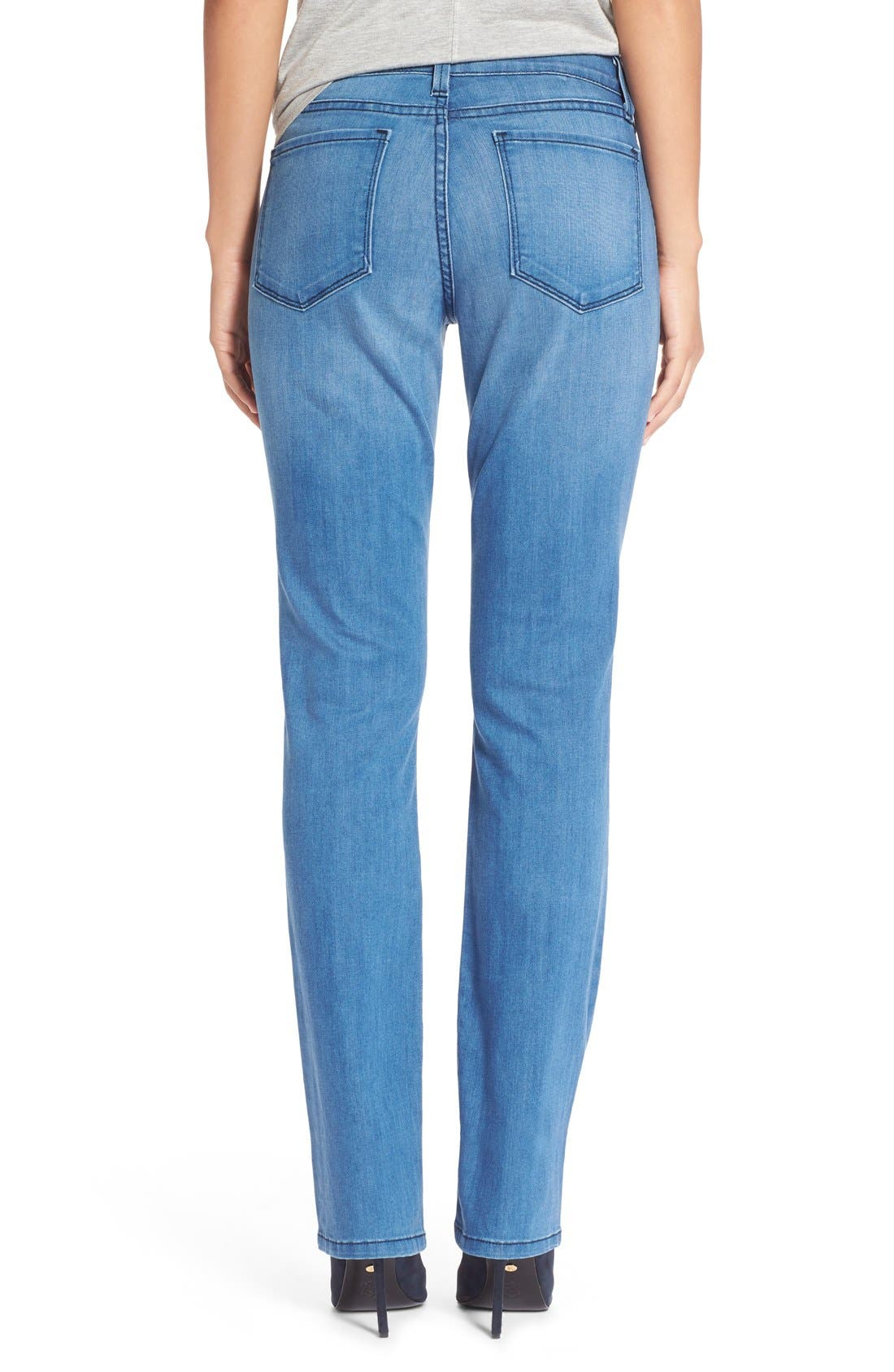 Alternate Image 2  - NYDJ 'Sheri' Stretch Skinny Jeans (Newberry)