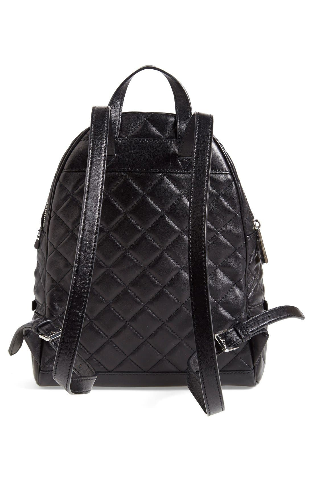 Alternate Image 3  - MICHAEL Michael Kors 'Medium Rhea Zip' Quilted Backpack (Nordstrom Exclusive)