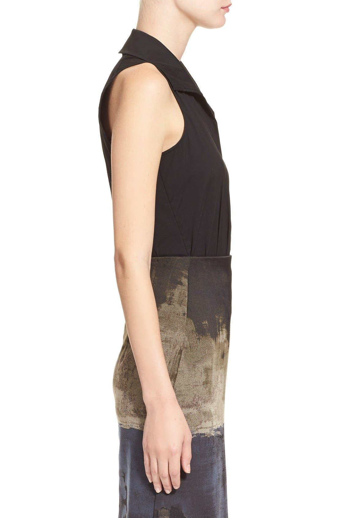 Alternate Image 5  - Donna KaranNew York SleevelessStretch Cotton Bodysuit