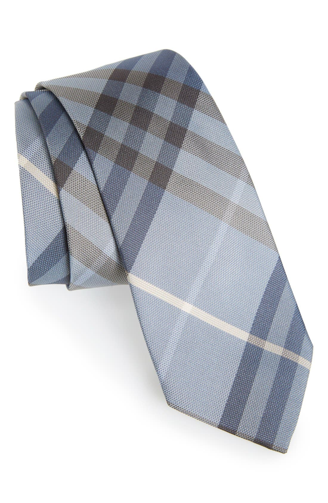 Main Image - Burberry 'Manston' Check Silk Tie