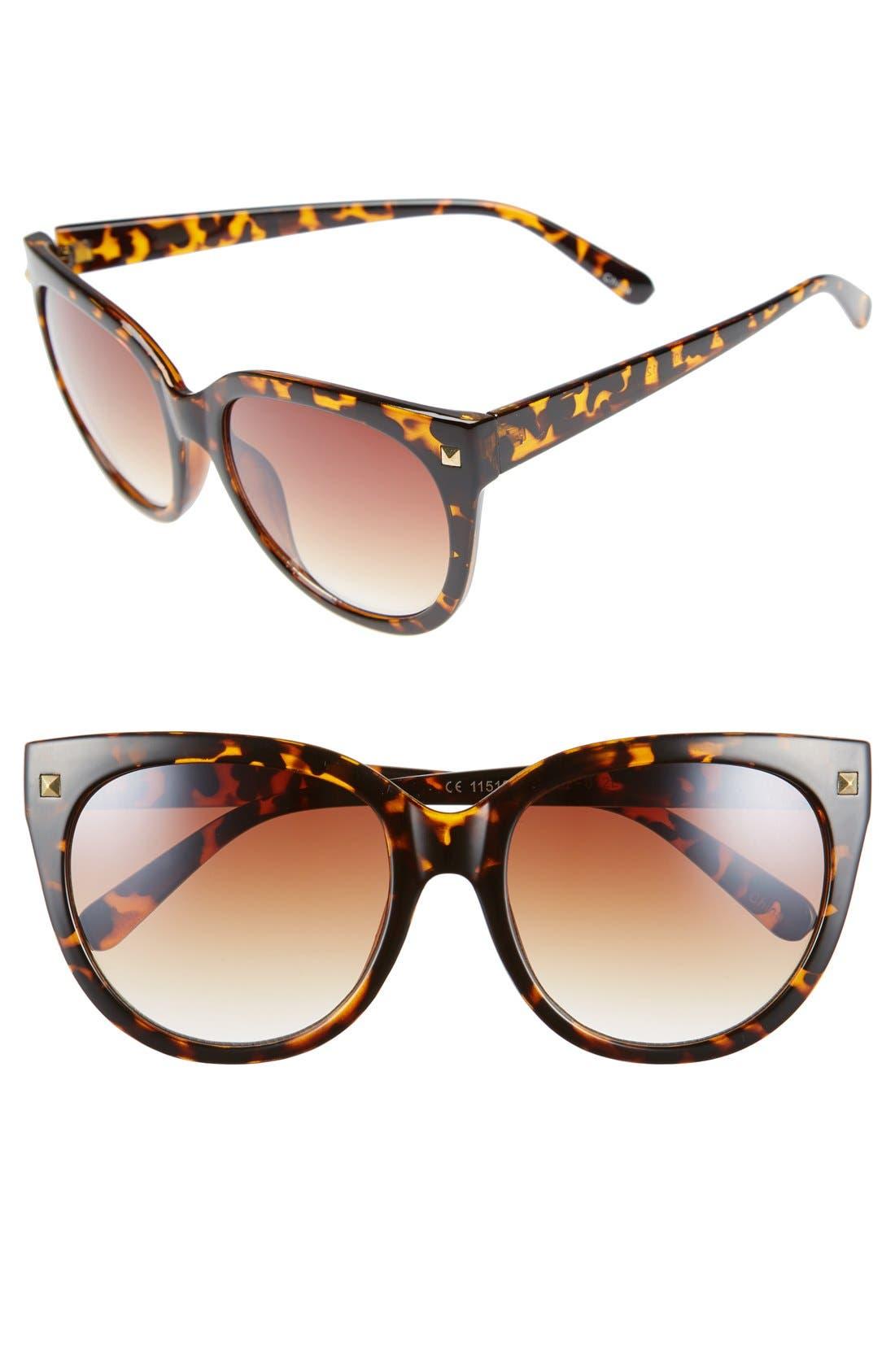 Main Image - BP. 55mm Oversize Cat Eye Sunglasses