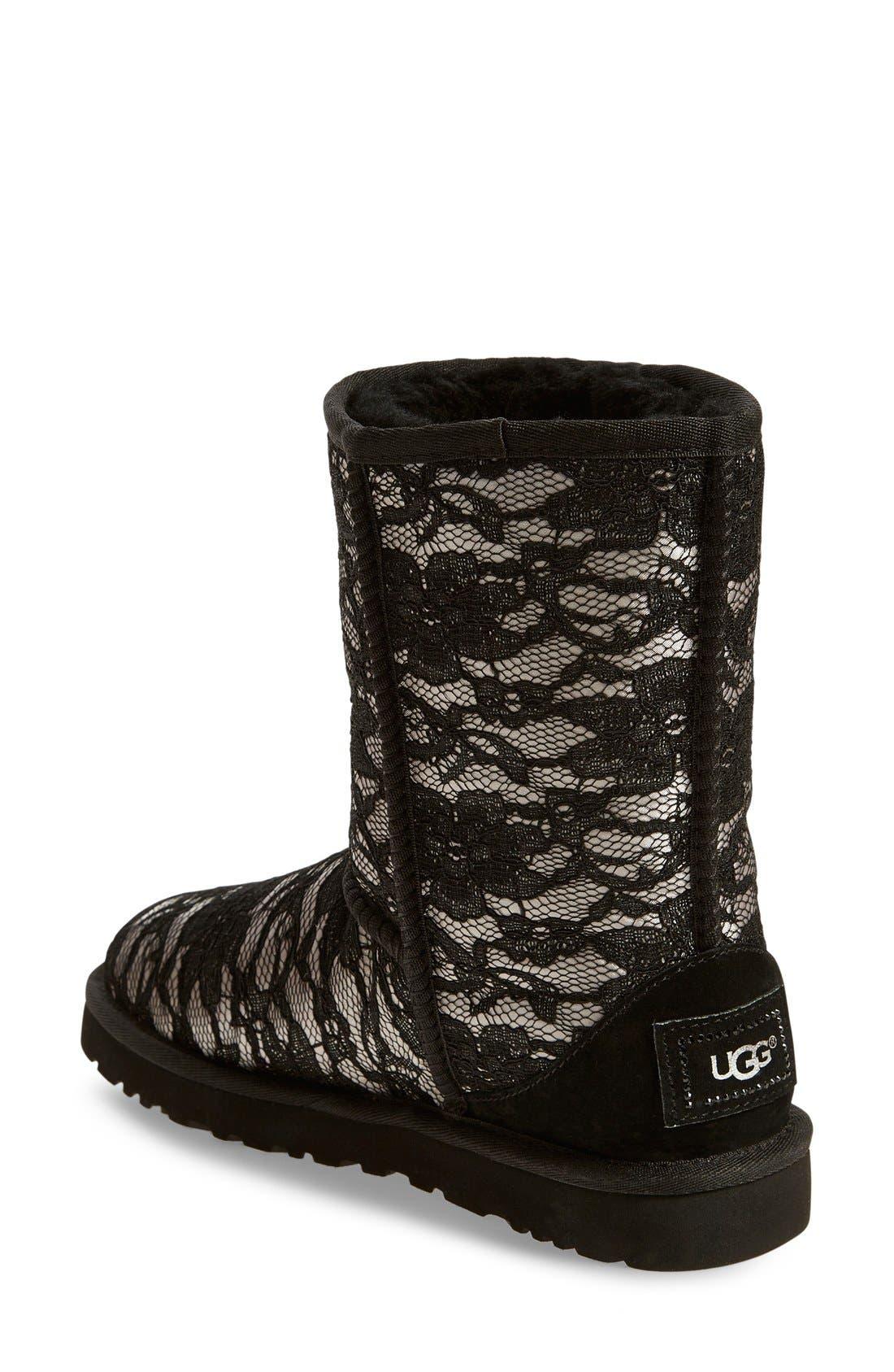 Alternate Image 2  - UGG® 'Classic Short Antoinette' Boot (Women)