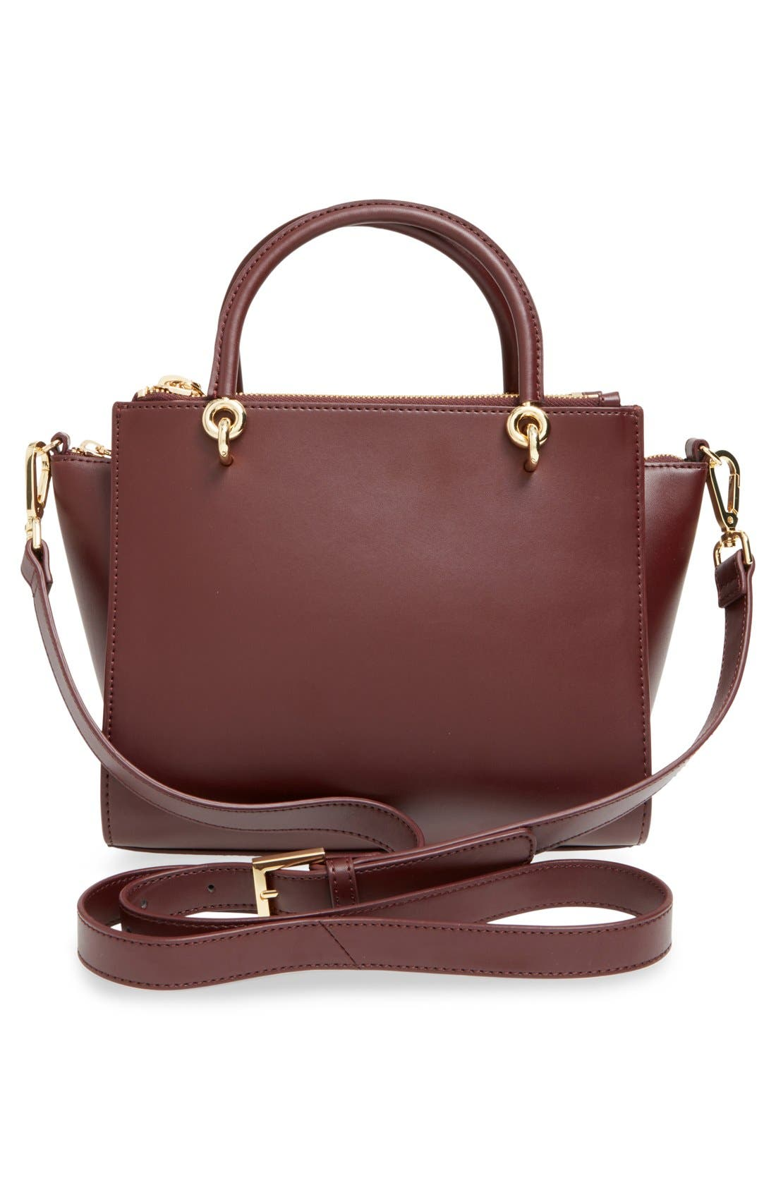 Alternate Image 3  - Ted Baker London 'Haylie' Leather & Genuine Calf Hair Crossbody Tote Bag