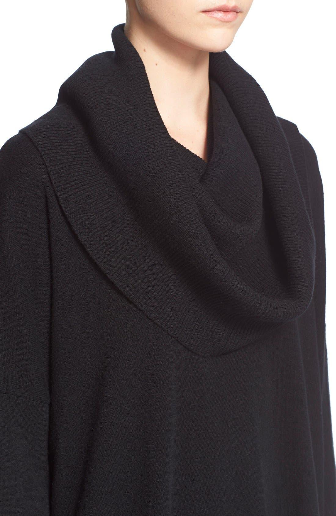 Alternate Image 4  - autumn cashmere Oversized ConvertibleCowl NeckSweater
