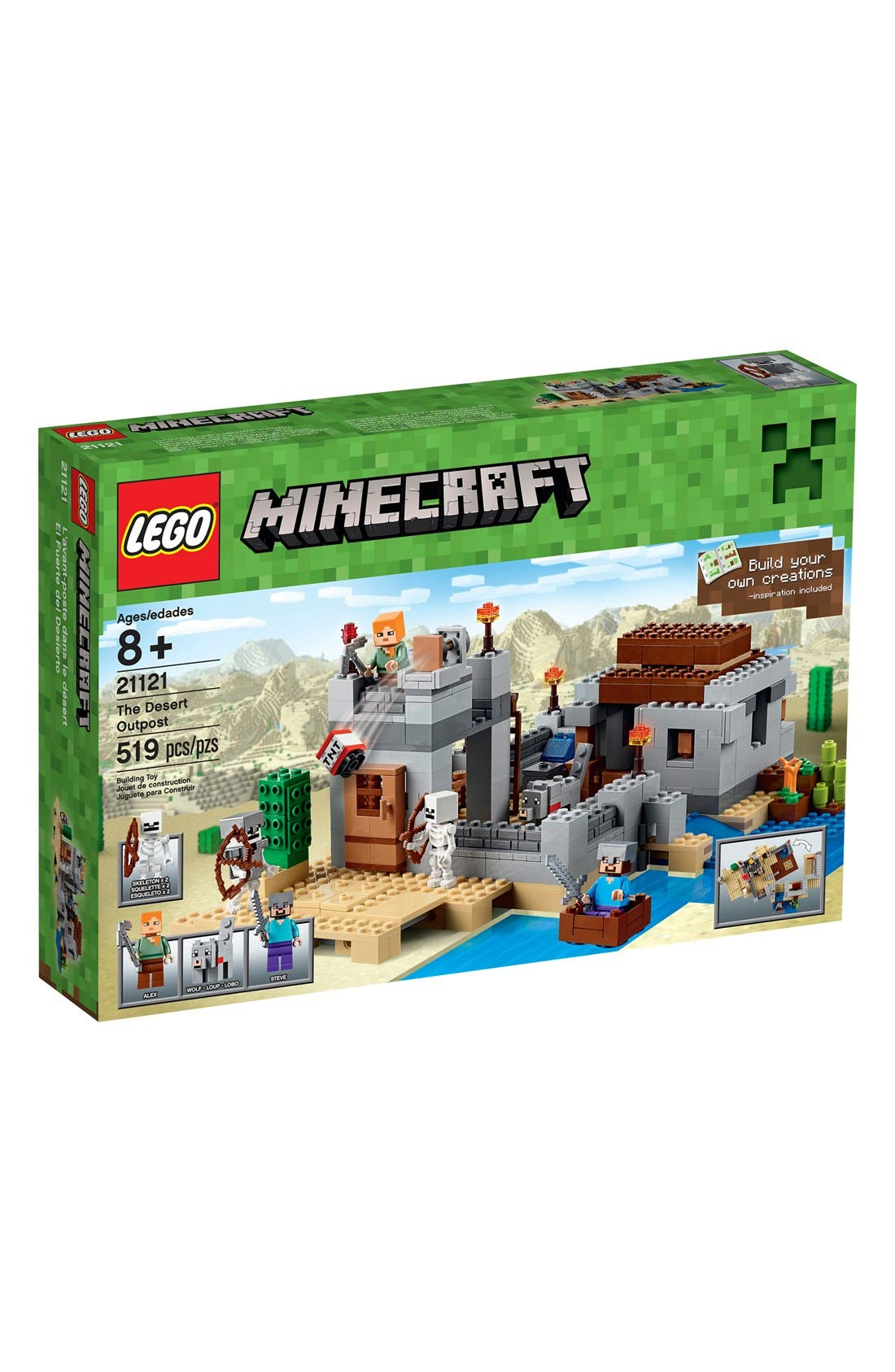 LEGO® Minecraft™ The Desert Outpost - 21121