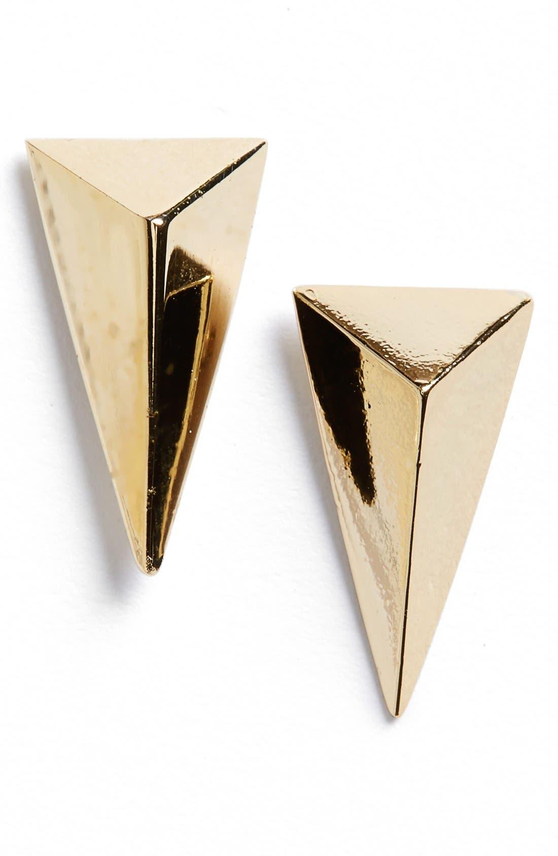Alternate Image 1 Selected - Alexis Bittar 'Miss Havisham' Pyramid Stud Earrings