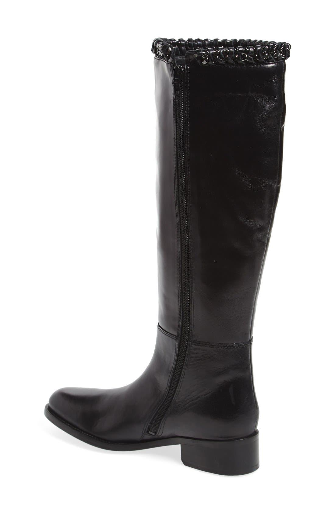 Alternate Image 2  - Johnston & Murphy 'Sari' Knee High Boot (Women)