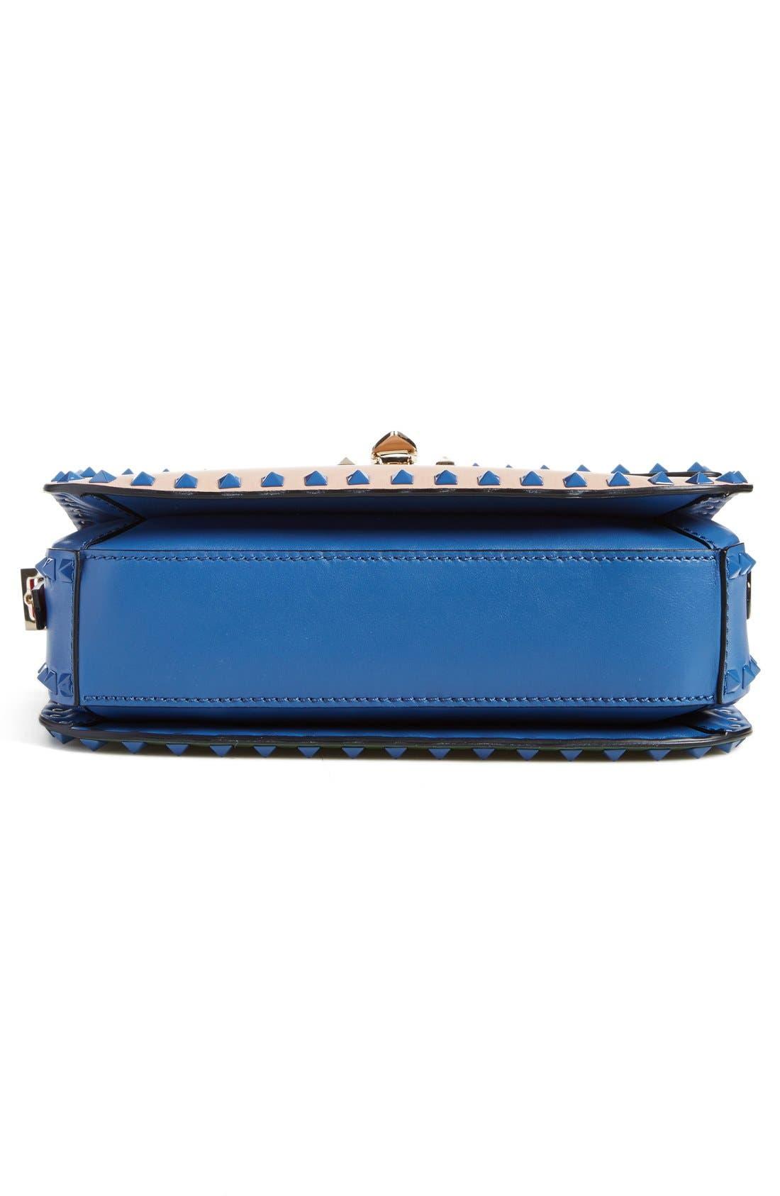 Alternate Image 5  - Valentino 'Rockstud' Colorblock Shoulder Bag
