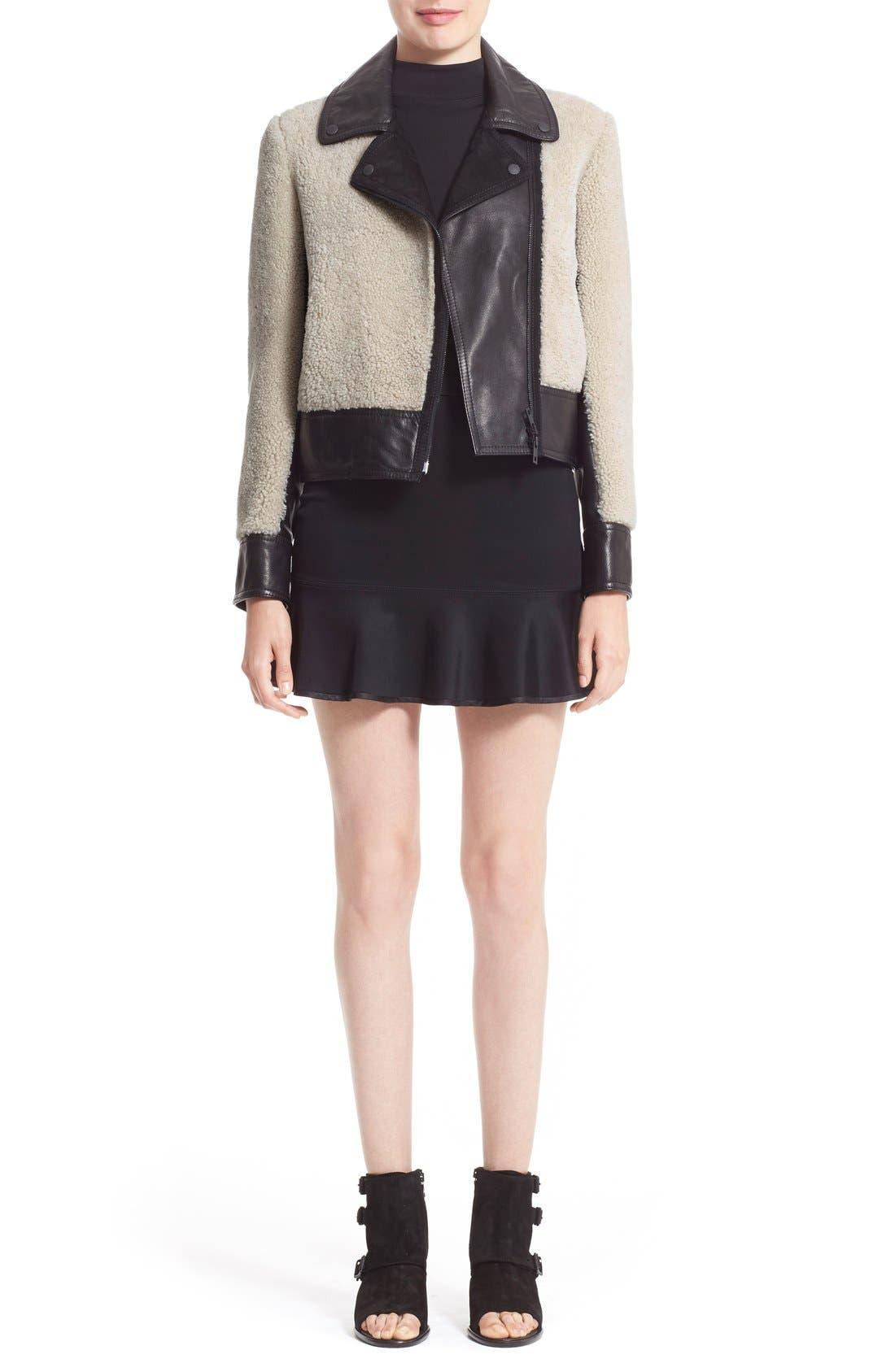 Alternate Image 6  - rag & bone 'Billie' Leather TrimGenuine Shearling Jacket