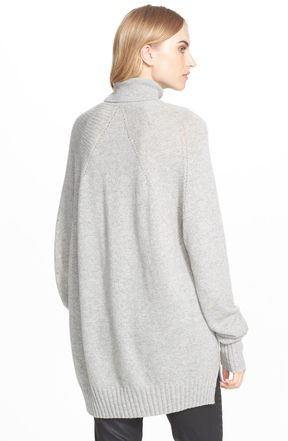 Alternate Image 2  - Belstaff Wool & Cashmere Turtleneck Sweater