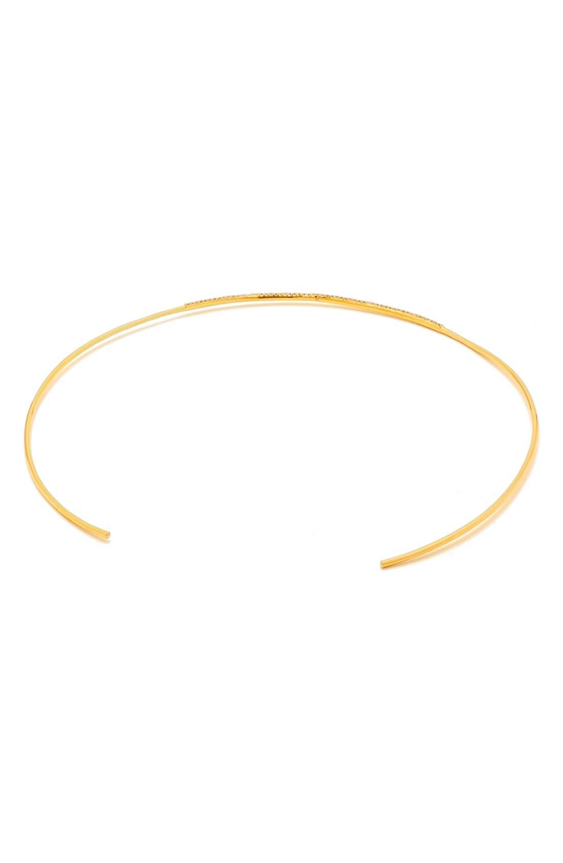 Alternate Image 3  - gorjana 'Petra' Pavé Choker Necklace