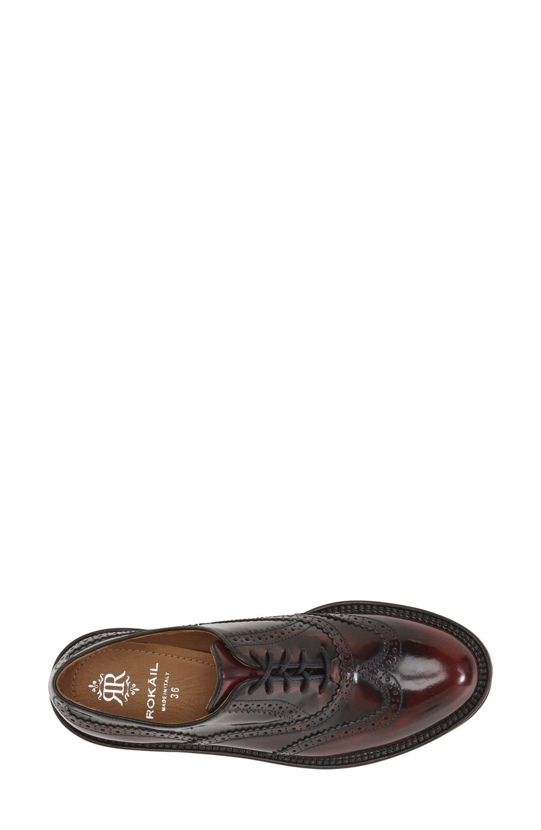 Alternate Image 3  - Rokail Wingtip Oxford (Women)