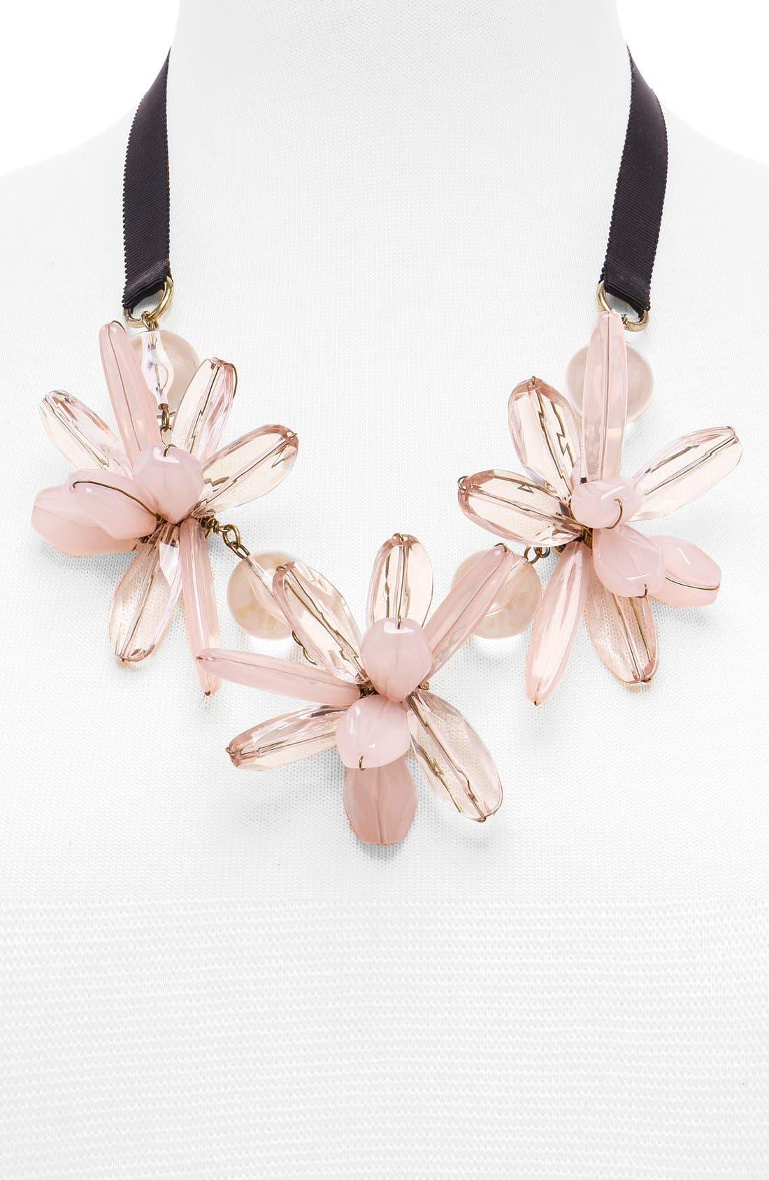 Alternate Image 2  - BaubleBar 'Plumeria' Collar Necklace