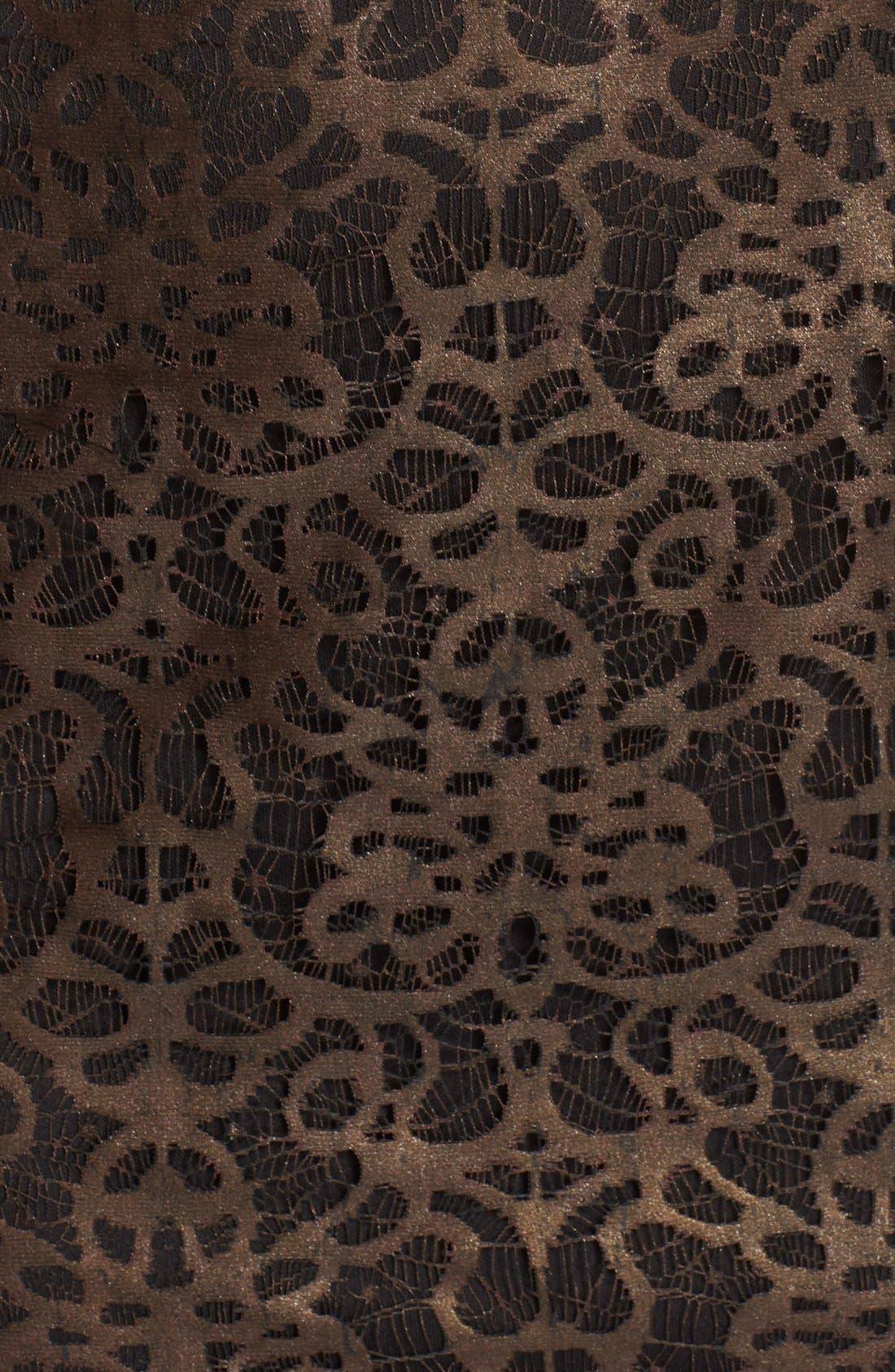 Alternate Image 5  - Julia Jordan Metallic Lace Sheath Dress