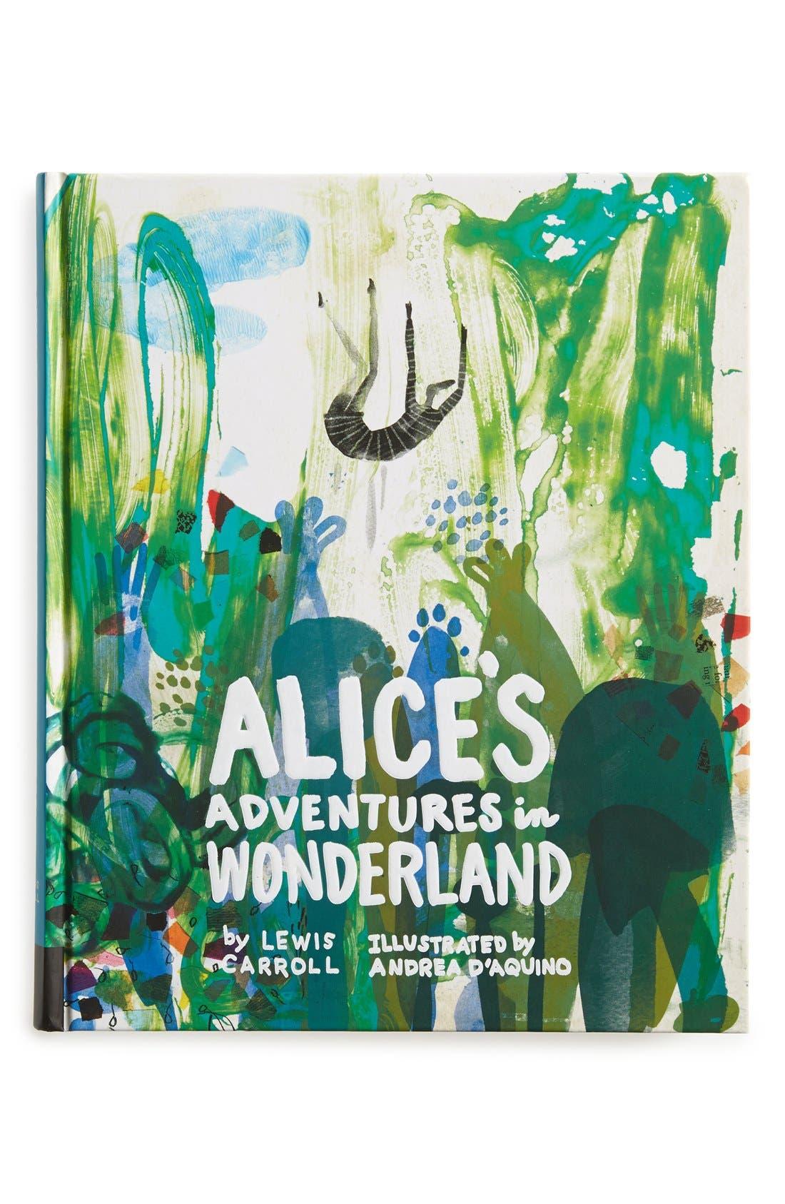 Alternate Image 1 Selected - 'Classics Reimagined: Alice's Adventures in Wonderland' Book